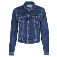 textil Mujer Chaquetas denim Pepe jeans CORE JACKET Azul