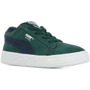 Zapatos Niños Zapatillas bajas Puma Inf Suede Cl Dnm Ac Verde