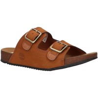 Zapatos Niño Zuecos (Mules) Timberland A427B CASTLE ISLAND Marr?n