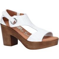 Zapatos Mujer Sandalias Oh My Sandals 4904-HY1 Blanco