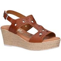 Zapatos Mujer Sandalias Oh My Sandals 4867-V62 Marr?n