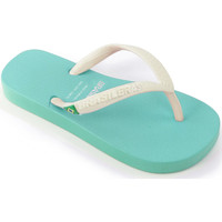 Zapatos Niños Chanclas Brasileras Chanclas de playa ®,Clasica Combi Brasil NL KID Water Green/White