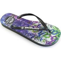 Zapatos Mujer Chanclas Brasileras Chanclas de playas ®, Feel BCN Grey