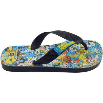 Zapatos Niños Chanclas Brasileras Chanclas de playas ®,Printed 21  Monster Black