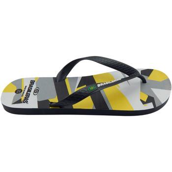 Zapatos Hombre Chanclas Brasileras Chanclas de playas ®,Printed 21  Metric Grey