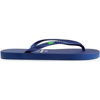 Zapatos Mujer Chanclas Brasileras Chanclas de playas ®, Classic Pearl W Blue Navy