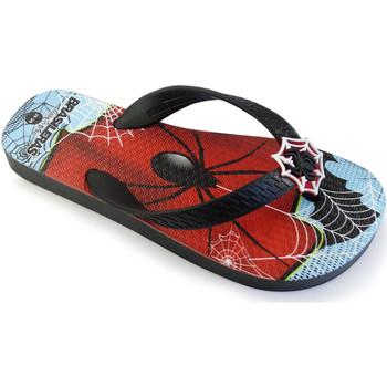Zapatos Niños Chanclas Brasileras Chanclas de playa ®,Printed 20 Mystery Black/Black