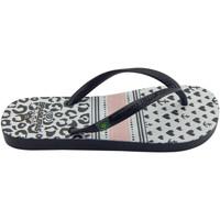 Zapatos Niña Chanclas Brasileras Chanclas de playas ,Printed 21  Corty Black