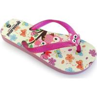 Zapatos Niña Chanclas Brasileras Chanclas de playa ®,Printed 20 Garden Fuchsia/Fuchsia