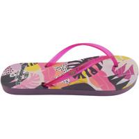 Zapatos Mujer Chanclas Brasileras Chanclas de playas ®,Printed 21  Clavero Fuchsia