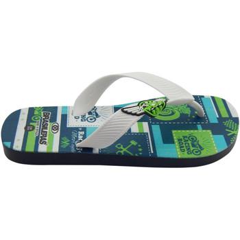 Zapatos Niños Chanclas Brasileras Chanclas de playas ®,Printed 21  Motor White