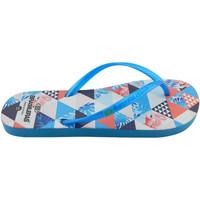 Zapatos Mujer Chanclas Brasileras Chanclas de playas ®,Printed 21  Axon LT.Blue
