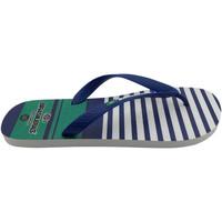 Zapatos Hombre Chanclas Brasileras Chanclas de playas ®,Printed 21  Line Blue