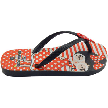Zapatos Niña Chanclas Brasileras Chanclas de playas ,Printed 21  Pin Up Black