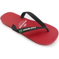 Zapatos Hombre Chanclas Brasileras Chanclas de playas ®, Classic Combi M SS19 Red/Black