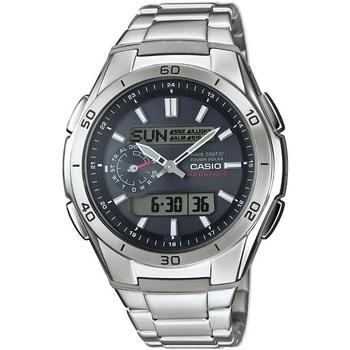 Relojes & Joyas Hombre Relojes analógicos Casio WVA-M650D-1AER, Quartz, 44mm, 10ATM Plata