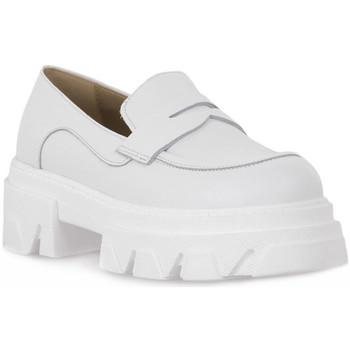 Zapatos Mujer Mocasín Priv Lab VITELLO BIANCO Bianco