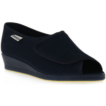 Zapatos Mujer Derbie Emanuela 342 BLU Blu