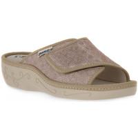 Zapatos Mujer Zuecos (Mules) Emanuela 1077 PIPER TIERRA Marrone