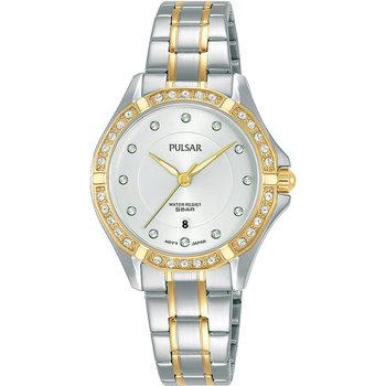Relojes & Joyas Mujer Relojes analógicos Pulsar PH7530X1, Quartz, 30mm, 5ATM Oro