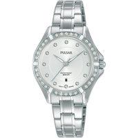 Relojes & Joyas Mujer Relojes analógicos Pulsar PH7529X1, Quartz, 30mm, 5ATM Plata