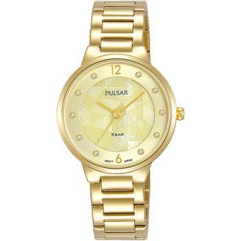 Relojes & Joyas Mujer Relojes analógicos Pulsar PH8516X1, Quartz, 30mm, 5ATM Oro