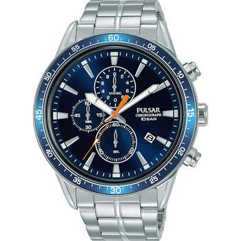 Relojes & Joyas Hombre Relojes analógicos Pulsar PM3203X1, Quartz, 45mm, 10ATM Plata