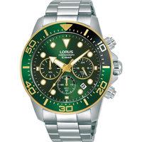 Relojes & Joyas Hombre Relojes analógicos Lorus RT340JX9, Quartz, 43mm, 10ATM Plata