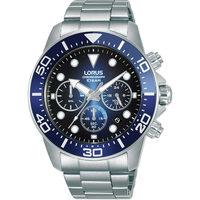 Relojes & Joyas Hombre Relojes analógicos Lorus RT343JX9, Quartz, 43mm, 10ATM Plata