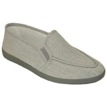 Zapatos Hombre Pantuflas Cbp - Conbuenpie Zapatillas XL Clásicas de Lona para hombre by CBP Gris