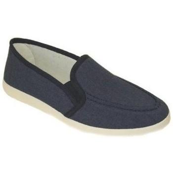 Zapatos Hombre Pantuflas Cbp - Conbuenpie Zapatillas XL Clásicas de Lona para hombre by CBP Bleu