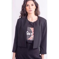 textil Mujer cazadoras Sandro Ferrone GHIANDA Incoloro