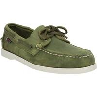 Zapatos Hombre Zapatos náuticos Sebago 137022 Verde