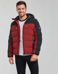textil Hombre Plumas Emporio Armani EA7 TRAINING CASUAL SPORTY Negro / Rojo