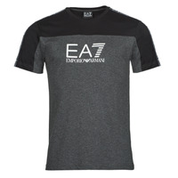 textil Hombre Camisetas manga corta Emporio Armani EA7 TRAIN ATHLETIC Negro