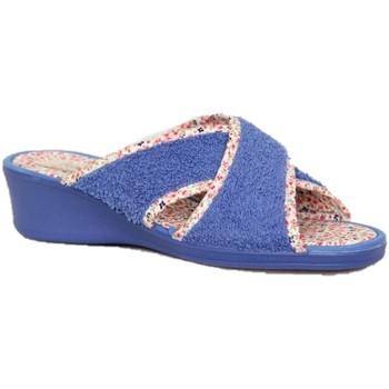 Zapatos Mujer Pantuflas Sena-6 3201.20 ORT AZULON