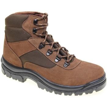 Zapatos Hombre Senderismo Javer 976.10 POS MARRON