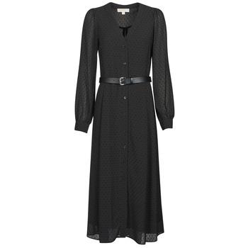 textil Mujer Vestidos largos MICHAEL Michael Kors CRINKLE DOTS KATE DRS Negro