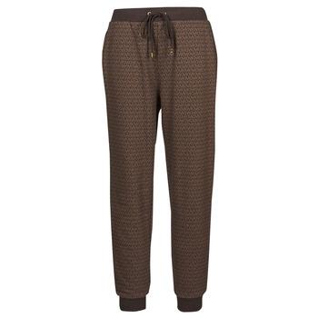 textil Mujer Pantalones de chándal MICHAEL Michael Kors MK DOT CLSC SPORT JOGGER Marrón