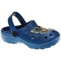 Zapatos Niño Zuecos (Clogs) Cerda PLAYA PISC NIÑO  AZUL Azul