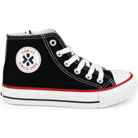 Zapatos Niños Zapatillas altas Chika 10 CITY KIDS 02N Negro/Black