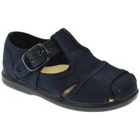 Zapatos Niño Sandalias Batilas LONA NIÑO  MARINO Azul