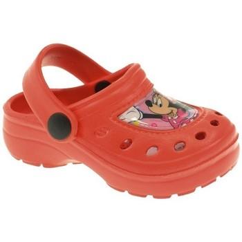 Zapatos Niña Zuecos (Clogs) Cerda PLAYA PISC NIÑA  ROJO Rojo