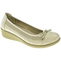 Zapatos Niña Bailarinas-manoletinas Amarpies MANOLETINAS  PLATA Gris