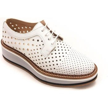 Zapatos Mujer Derbie Calce 971 Blanco