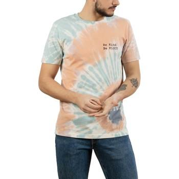 textil Hombre Camisetas manga corta Klout CAMISETA TIE DYE Multicolor