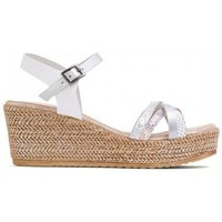 Zapatos Mujer Sandalias Porronet SANDALIA LARA DE  CON CUÑA Blanco