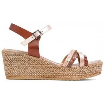 Zapatos Mujer Sandalias Porronet SANDALIA LARA DE  CON CUÑA Multicolor