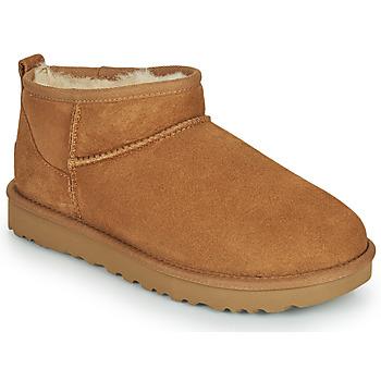 Zapatos Mujer Botas de caña baja UGG Classic Ultra Mini Camel
