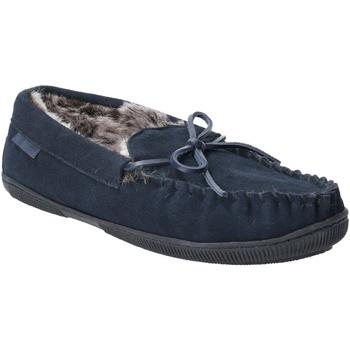 Zapatos Hombre Pantuflas Hush puppies  Azul